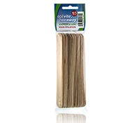 Hair Away Wooden Spatulas For Waxing
