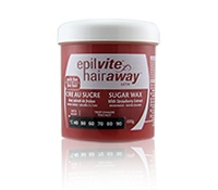 Hair Away Satin Sugar Wax Strawberry Extract