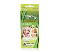 Hair Away Wax Strips Olive Oil and Aloe
